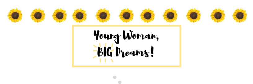 Young Woman Big Dreams Header